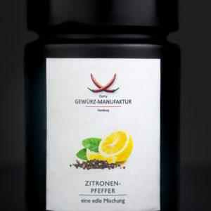 Zitronenpfeffer Gewürzdose vorne